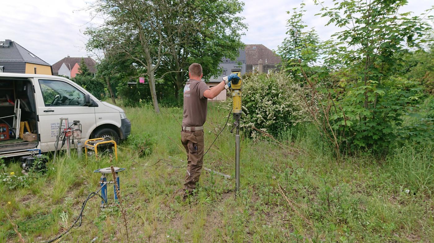 Baugrundgutachten zum Neubau eines Einfamilienhauses mit Garage in Gröditz/Landkreis Meißen