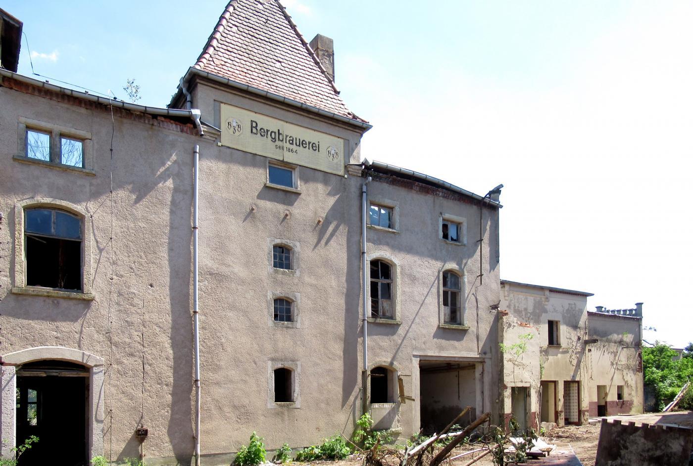 Abbruch Bergbrauerei Zschieschen, An der Bergbrauerei 6 in 01558 Großenhain, Gemarkung Zschieschen, Stadt Großenhain im Landkreis Meißen (SALKA-Nr. 85200979)