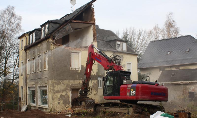 Rückbau Mehrfamilienhaus in Brand-Erbisdorf